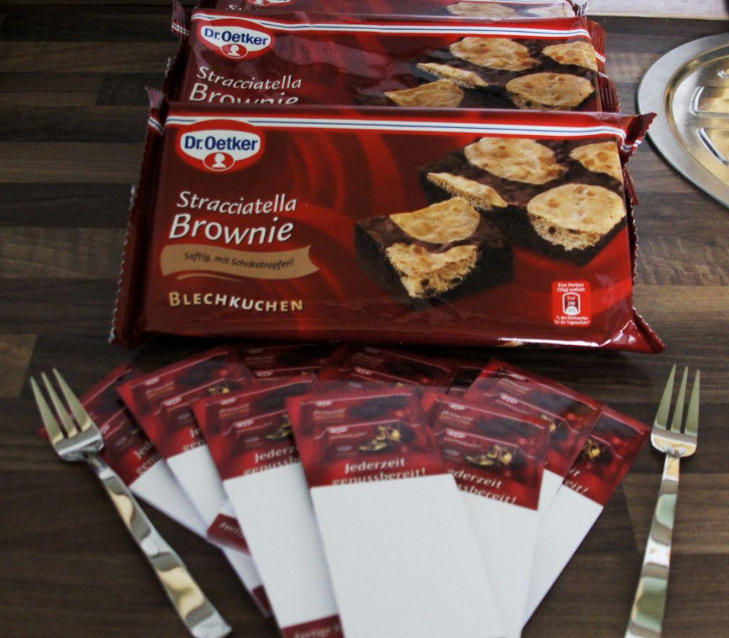 Dr Oetker Stracciatella Brownie Belchkuchen Zweieinhalbtester
