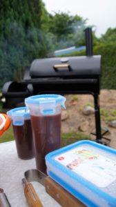 BBQ - Mop Sauce sicher transportiert