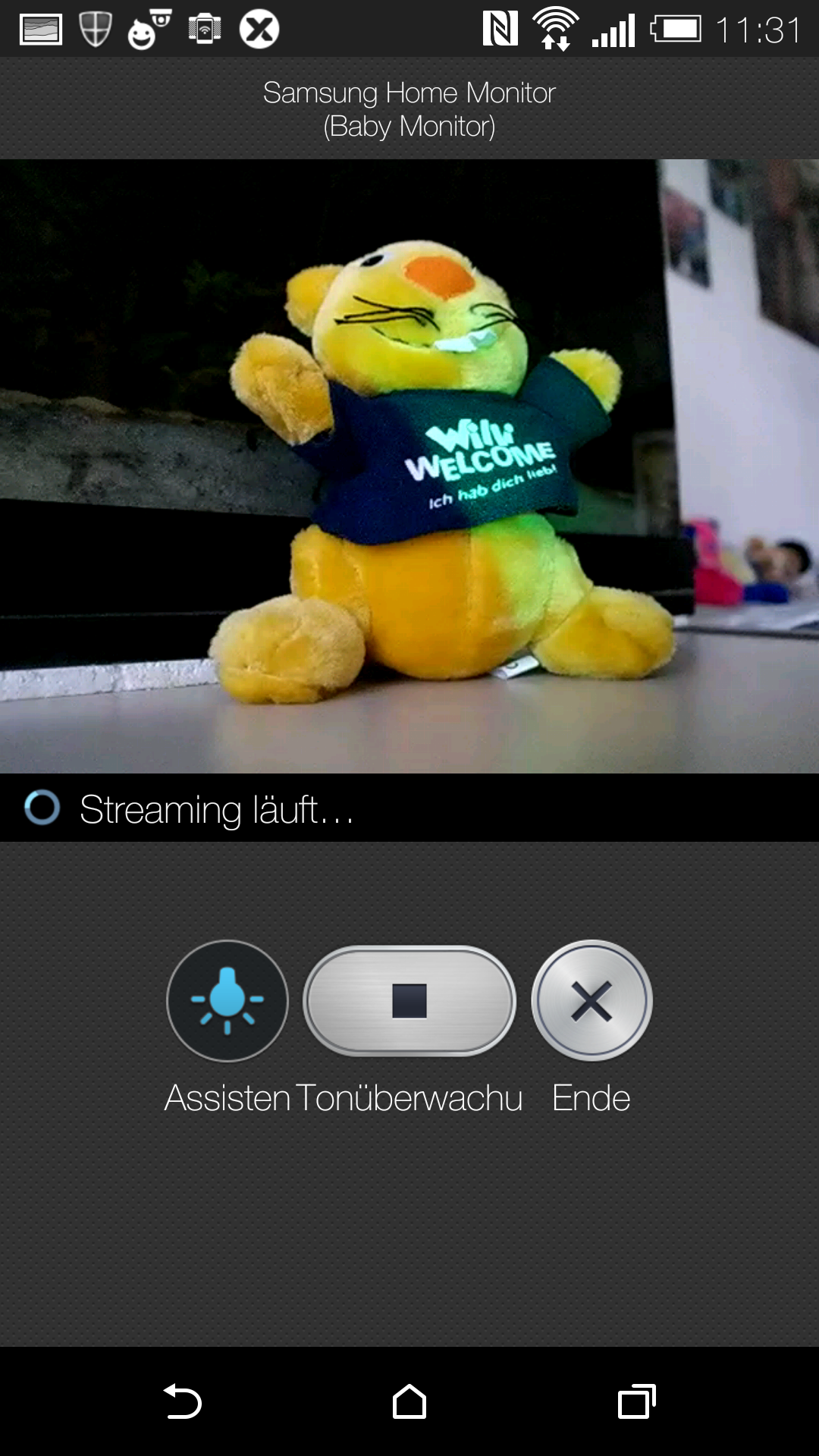 Screenshot Samsung Home Monitor