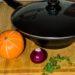 Gastrolux Wok mit Deckel, Seitenansicht