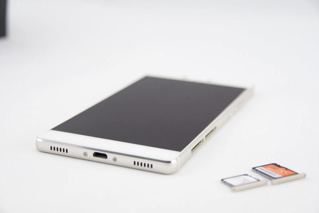 Huawei P8 Unterseite